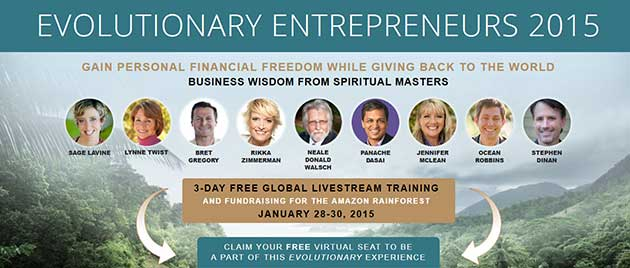 Evolutionary Entrepreneurs 2015 3-Day Free Video Training